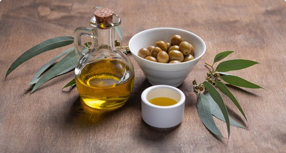 olives on desk
