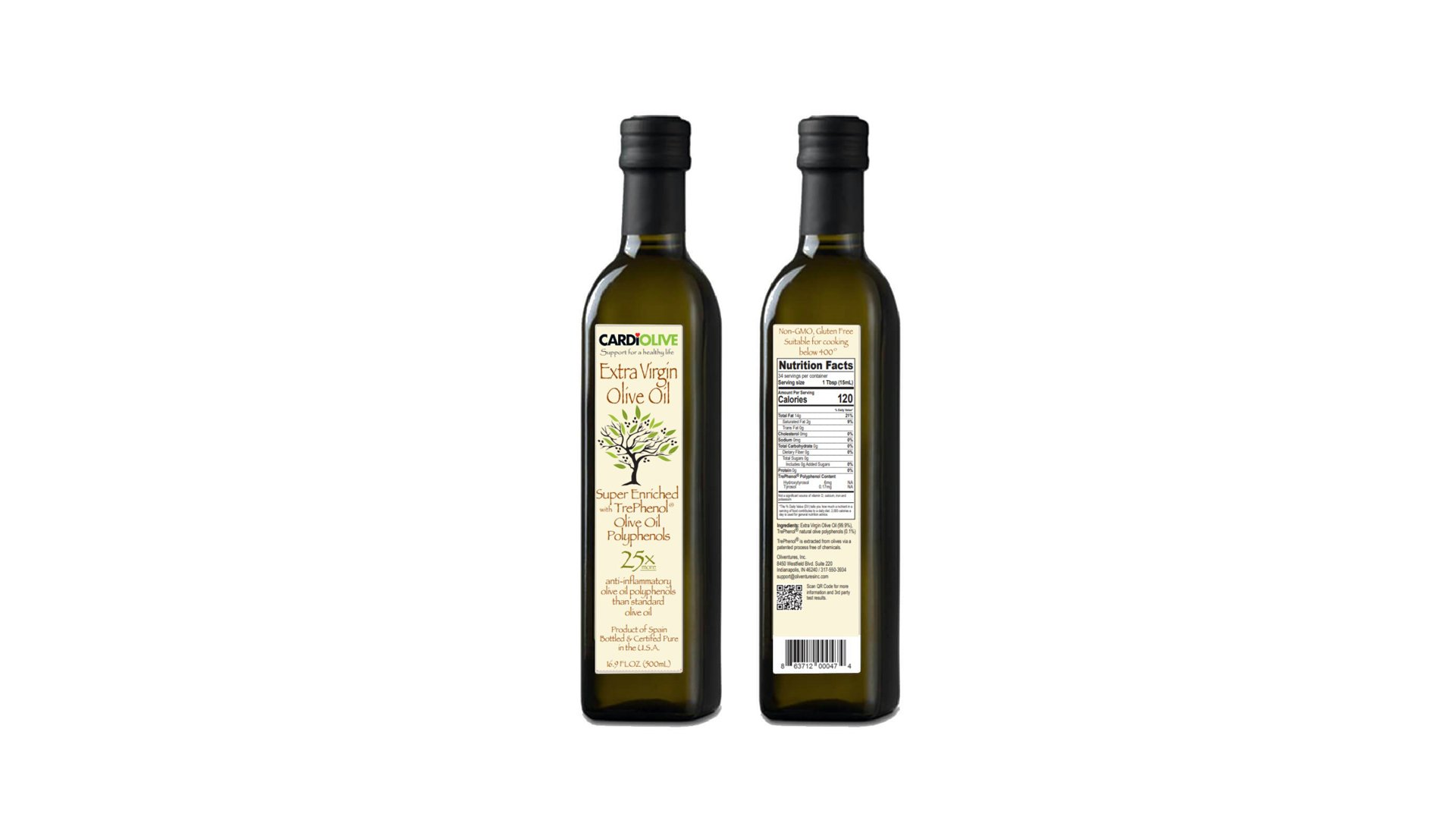 polyphenol enriched olive oil